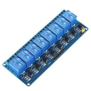 KKmoon Relè Modulo 5V Attivo Basso 8 Canale per Arduino PIC AVR MCU DSP ARM