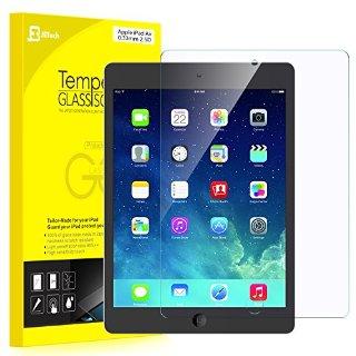 JETech iPad Air 1 / 2, iPad Pro 9.7 Film Screen Protector Ultra Resistente in Vetro Temperato Protezione Schermo