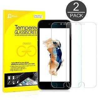 iPhone 6s Pellicola Protettiva, JETech® 3D Toccare Compatibile 2-Pack iPhone 6/6s 4.7 Screen Protector Pellicola Protettiva Temperato di vetro per Apple iPhone 6 e iPhone 6s Nuovo Modello 4.7