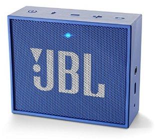 JBL GO Ultra Altoparlante Bluetooth Ricaricabile, Portatile, con Aux-In, Compatibile con Smartphone, Tablet e Dispositivi MP3, Blu