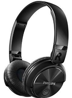 Philips SHB3060BK/00 Cuffie Stereo Bluetooth, Driver da 32 mm, On-Ear, Nero