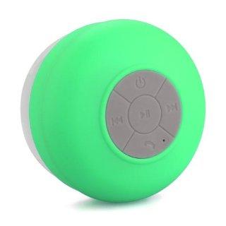Bluetooth Cassa Altoparlante Speaker Verde a Ventosa Impermeabile X Cellulare