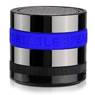 Monstercube MINI speaker Bluetooth portatile senza fili per Ipad/IPod/IPhone, Samsung, Tablet (BLU)