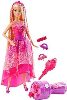 Recensioni dei clienti per Mattel Barbie DKB62 - fashion dolls, 4 regni, i capelli magici Flechtspaß principessa   tripparia.it