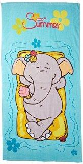 NICI 36626 - Telo Mare Elefante, 70 x...