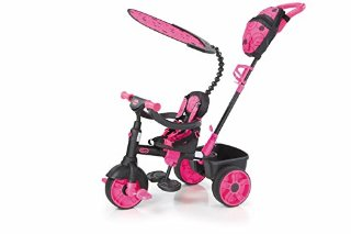 Little Tikes 634338E4 - Triciclo 4 in 1 Deluxe, colore: Rosa