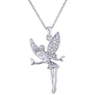 Recensioni dei clienti per VIKI LYNN collana fata con catena Collana pendente delle donne strass oro bianco 18K ha placcato Tinkerbell figura | tripparia.it