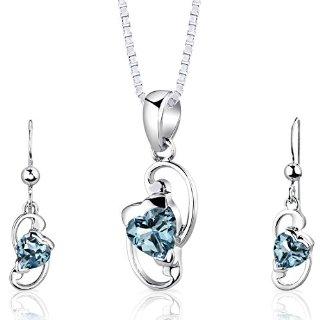Recensioni dei clienti per Revoni signore monili della collana + orecchini in argento sterling 925 3 topazio blu 2.25ct 44 cm PER-SS2838 | tripparia.it