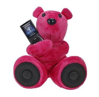 Hi-Fun Hi-George Speaker per iPod/iPhone e lettori mp3 - Fucsia
