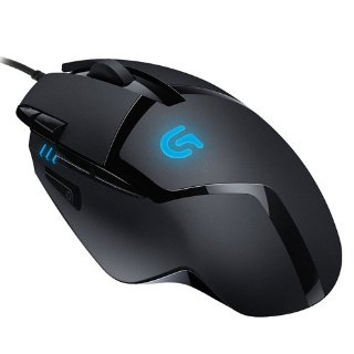 Logitech G402 Hyperion Fury FPS Gaming Mouse, Nero/Antracite