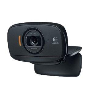 Logitech C525 HD Webcam (microfono, HD 720p), Nero