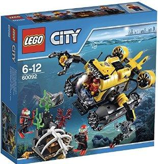 Recensioni dei clienti per Lego 60092 - Città del deep-sommersione veicolo | tripparia.it