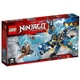 Recensioni dei clienti per Lego 70602 - Ninjago Jays Elemental Drago | tripparia.it
