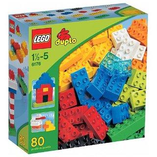 LEGO Duplo 6176 - Primi mattoncini confezione maxi