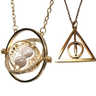 Collana con ciondolo giratempo ispirato al film di Harry Potter - time turner