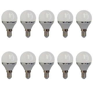 Recensioni dei clienti per 10er SET V-TAC 4123 E14 4W LED lampadina di figura di goccia 2700K Warm White 320 lumen a 180 ° del fascio | tripparia.it