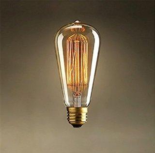 Recensioni dei clienti per KINGSO - E27, 60 W ST64, vite, incandescente, Design Retro Edison lampadina a filamento design tradizionale, 220 V | tripparia.it