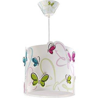 Dalber - Lampadario, soggetto: farfalle variopinte