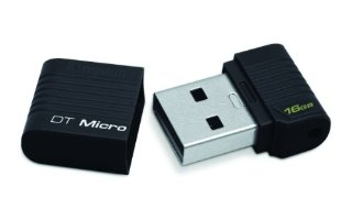 Kingston DataTraveler Micro Flash USB da 16 GB, Nero