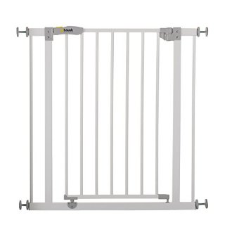 Hauck 597026 Open N Stop, Cancelletto di Sicurezza in Metallo, Bianco