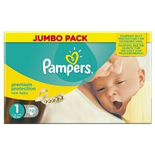 Recensioni dei clienti per Pampers - Nuovo formato del bambino 1 (72 unità) | tripparia.it