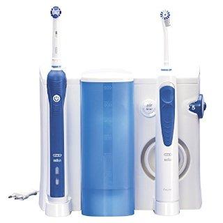 Oral-B Kit Idropulsore Professional Care Oxyjet + Spazzolino Elettrico Professional Care 3000