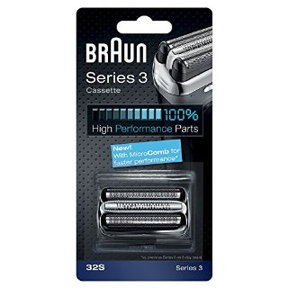 Braun Combi-pack 32S Testina di ricambio per i rasoi Braun della Serie 3