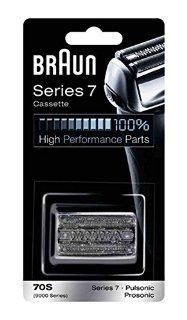 Recensioni dei clienti per Braun 70S - Pezzi di ricambio per rasoio elettrico Serie 7, argento | tripparia.it