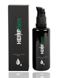 Novità - L'Olio lubrificante 50 ml, 100% naturale, con estratto di semi di canapa!