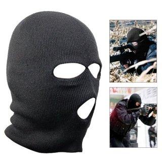 Recensioni dei clienti per SODIAL (TM). Acrilico nero passamontagna militare Tre fori sottocasco da sci casco maschera passamontagna   tripparia.it