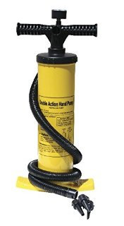 Advanced Elements Double Action Hand Pump With Pressure Gauge Pompa Kayak, Giallo