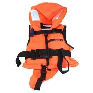 Giubbotto di salvataggio bebè-bambino 100N arancio 3-10 kg - LALIZAS