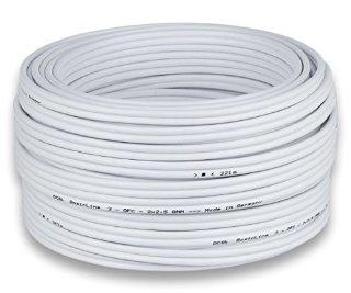 Commenti per DCSk HiFi Cavo per altoparlanti - Bianco - Puro Rame OFC - 2 x 2,5 mm� - 50m