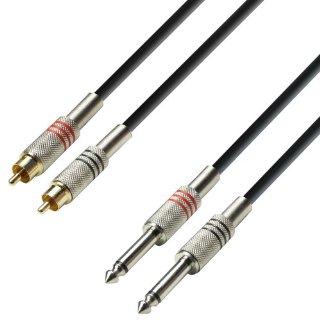 Commenti per Adam Hall Cables - Cavo audio a 2 connettori RCA maschio 3 m