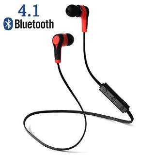 Recensioni dei clienti per Stereo XCSOURCE® Sport Wireless Headset Bluetooth V4.1 con microfono per iPhone Samsung HTC Smartphones (nero e rosso) TH171   tripparia.it
