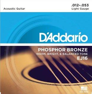 Recensioni dei clienti per D'Addario EJ16 impostato stringhe di bronzo per la chitarra acustica 012 '- 053' | tripparia.it