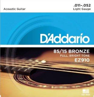 Recensioni dei clienti per D'Addario EZ910 set acustico chitarra Strings 011 '- 052' del bronzo | tripparia.it
