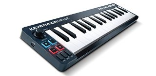 M-Audio Keystation Mini 32 II Tastiera Controller USB MIDI con 32 Tasti Sensibili alla dinamica + Ignite e Ableton Live Lite