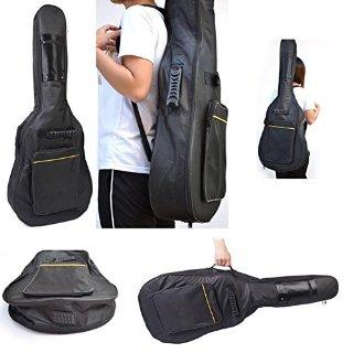 Recensioni dei clienti per Dimensioni Babz completa imbottito protettivo impermeabile classica chitarra acustica Custodia posteriore Bag - Nero | tripparia.it