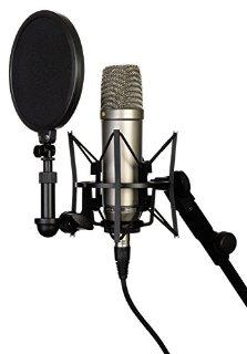 Rode NT1-A Microfono a Condensatore, Diaframma Largo da 1