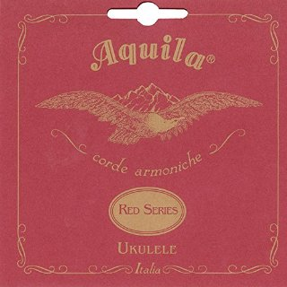 Aquila 83U Sopreana Red Series - Corde armoniche in DO per ukulele, GCEA