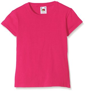 Fruit of the Loom SS079B-T-shirt  Bambina