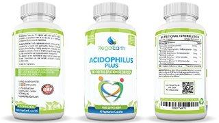 I probiotici enzimi digestivi ad alta resistenza capsule di acidophilus polvere - migliori integratori per IBS per uomini e donne - funziona alla grande con Colon Cleanse - Contiene 5 dei ceppi più essenziali destinati a migliorare la digestione e rafforzare l'immunità - oltre 14 miliardi CFU, Complesso probiotico è la più sana