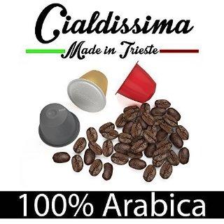 Recensioni dei clienti per Cialdissima 100 capsule Nespresso Compatibile al 100% Arabica, Espresso Italiano - TRE miscele PACCHETTO MISTO, Arabicus -