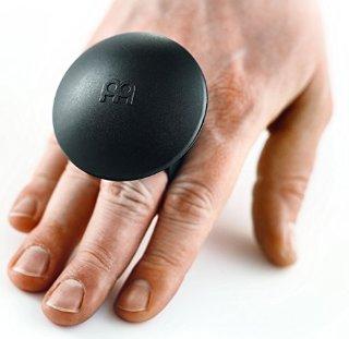 Meinl Percussion MS-BK - Shaker da dita, accessorio per cajon