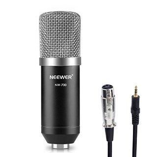 Commenti per Neewer® NW-700 Professionale Studio Radiotelevisione & Registrazione Microfono a Condensatore Set Include: (1) NW-700 Microfono a Condensatore + (1) Tappo di Schiuma a Sfera Anti-vento+ (1) Microfono Cavo di Alimentazione (Nero)