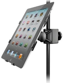 Commenti per IK Multimedia iKlip 2 Supporto iPad per Asta Microfono Professionale Compatibile con iPad 2/3/4/Air, Nero