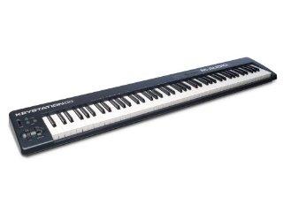 M-Audio Keystation 88 II Tastiera Controller USB MIDI con 88 Tasti Sensibili alla Dinamica e Software Eighty-Eight Ensemble di SONiVOX