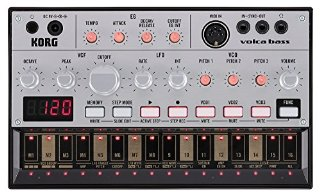 Commenti per Korg Volca Bass sequencer synth analogico compatto per basso