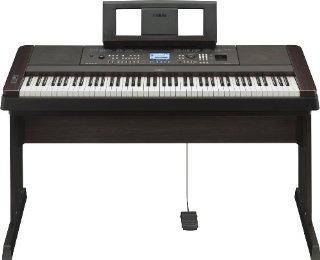 Yamaha NDGX650B Pianoforte Digitale, Nero